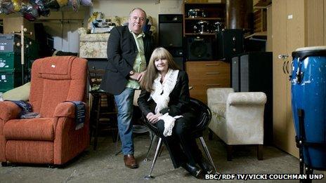 Brian and Sheila Greenways
