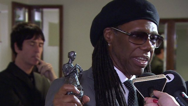 Nile Rodgers and his Ivor Novello