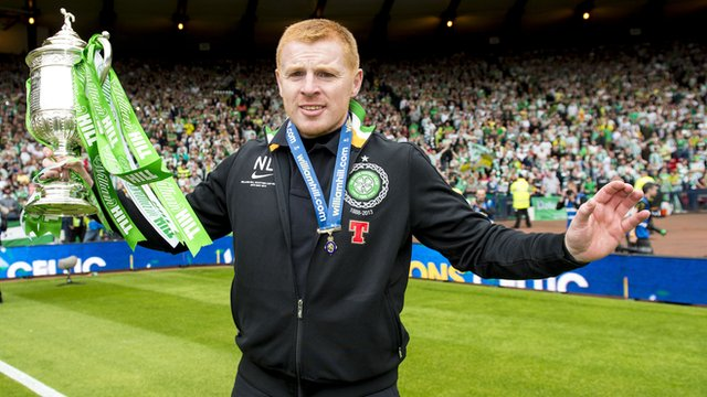 Neil Lennon won the Scottish Cup twice as Celtic boss