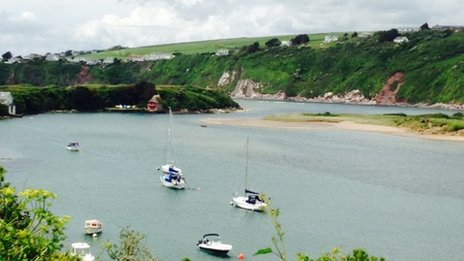 Bantham in south Devon