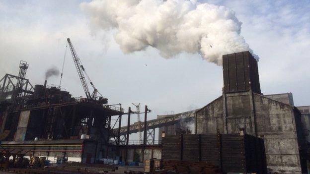 Avdiivka steel factory