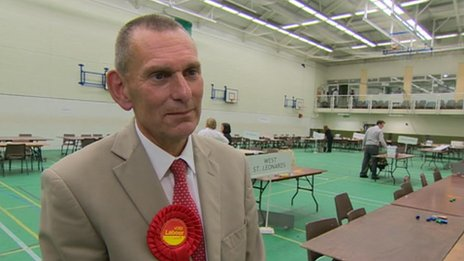 Labour leader of Hastings council Jeremy Birch