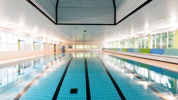 Taunton Pool Reopens After Refurbishment Bbc News