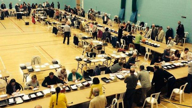 Counting in Cheltenham