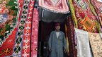 Djerba carpet trader, Tunisia - Saturday 17 May 2014