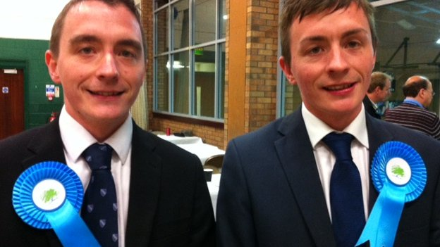 Sean and Stephen Anstee