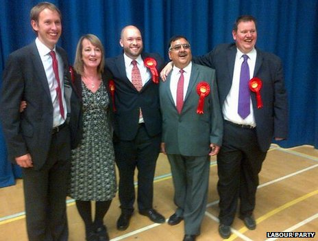 Labour councillors in Crawley
