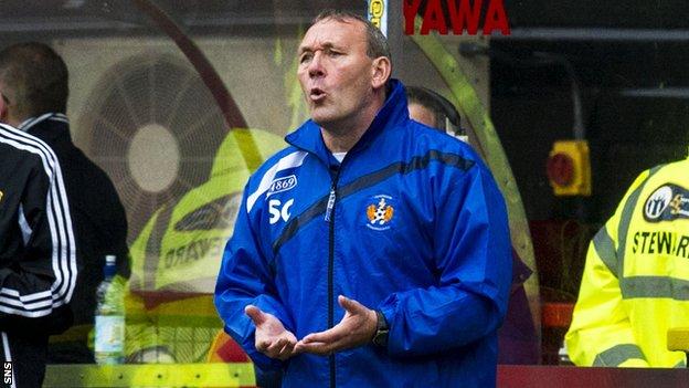 Kilmarnock assistant manager Sandy Clark