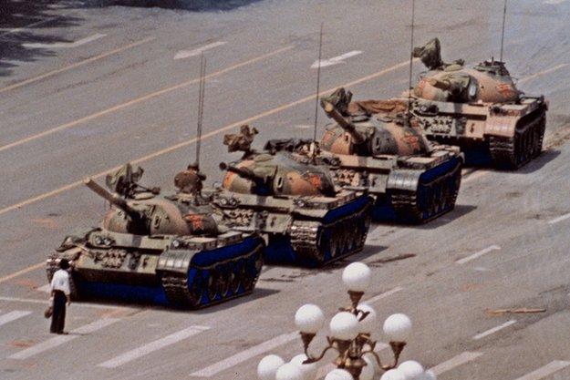 Tiananmen square Beijing 1989