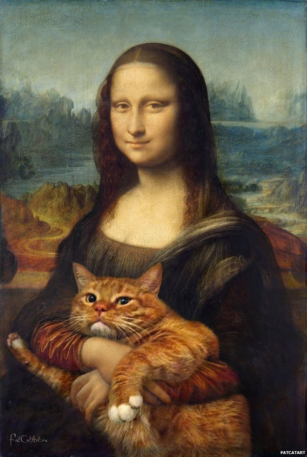 Mona Lisa. True version. based on Leonardo da Vinci