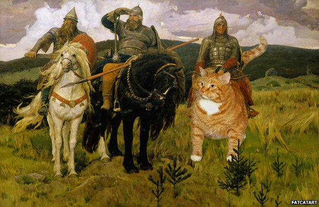 Heroes (Bogatyri), based on Viktor Vasnetsov