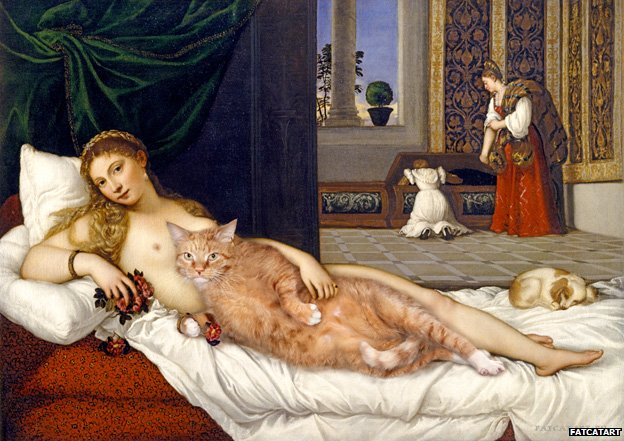 Venus of Urbino. Happily ever after, based on Titian