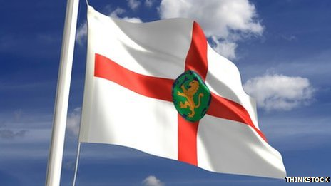 Alderney flag. Pic: Thinkstock