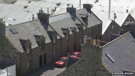 Fraserburgh street