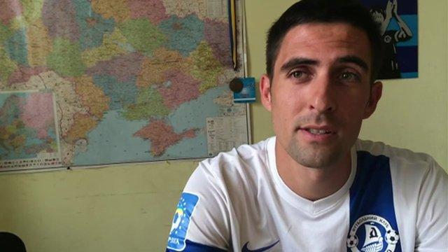 Ukrainian football fan