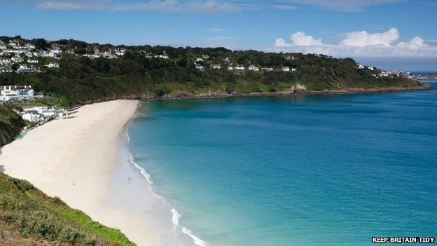 Carbis Bay. Pic: Keep Britain Tidy