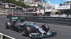 Nico Rosberg claims pole at Monaco