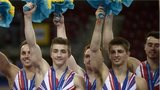 British male gymnasts