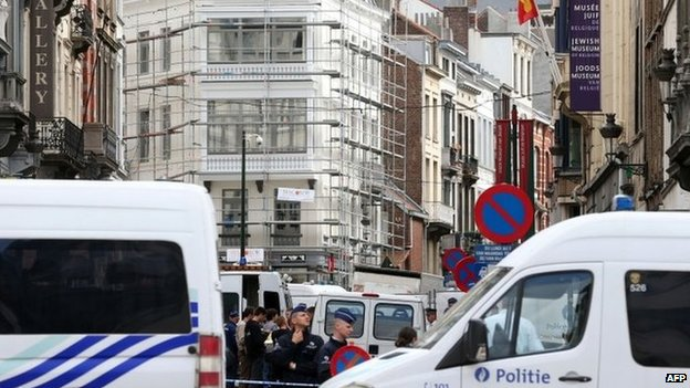 Brussels fatal gun attack at Jewish museum