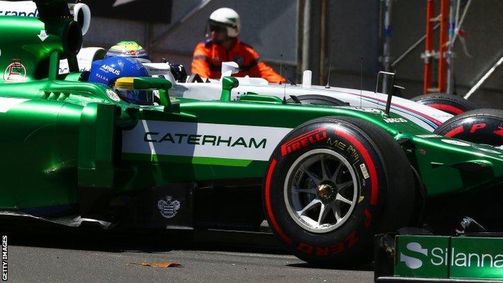 Marcus Ericsson and Felipe Massa