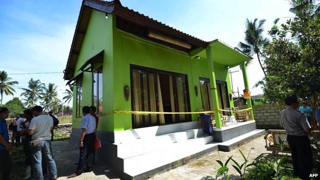 Villa where British woman was found dead