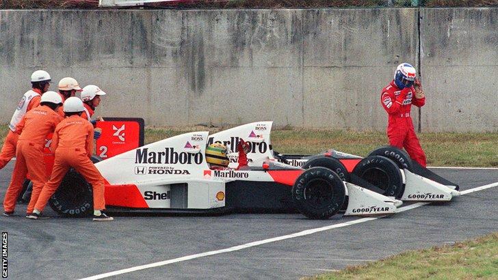Ayrton Senna & Alain Prost