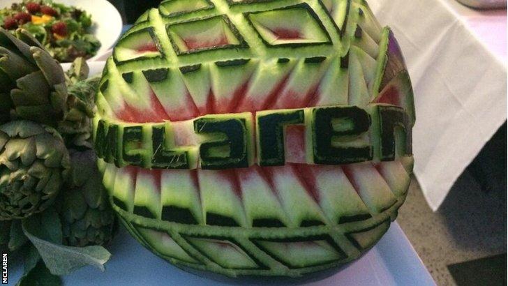 McLaren melon