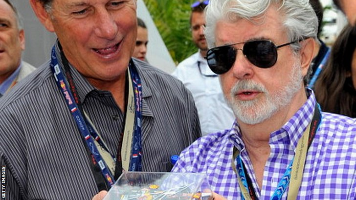 George Lucas considers buying a car
