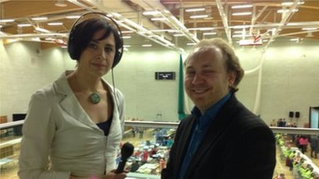 Ita Dungan with Stephen Agnew