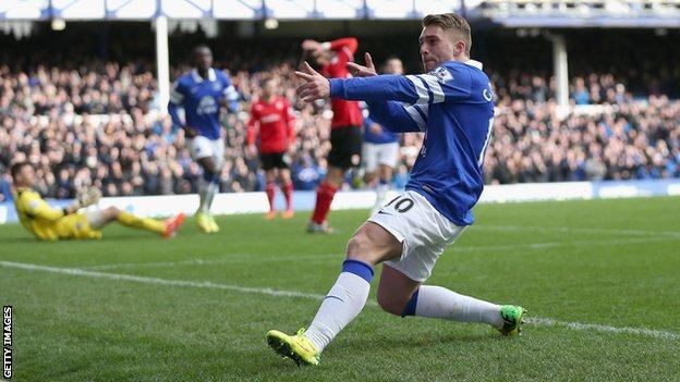 Gerard Deulofeu Everton