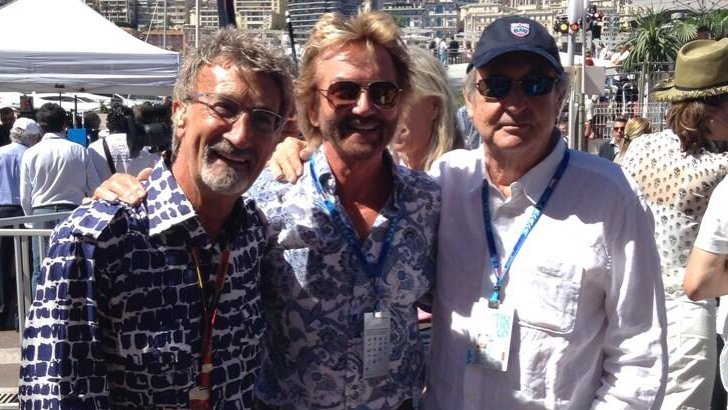 Eddie Jordan and Noel Edmonds