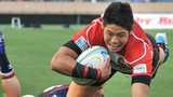 Yoshikazu Fujita scores for Japan