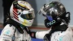 Lewis Hamilton v Nico Rosberg: The story so far