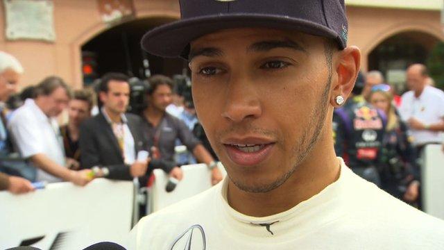 Mercedes's Lewis Hamilton