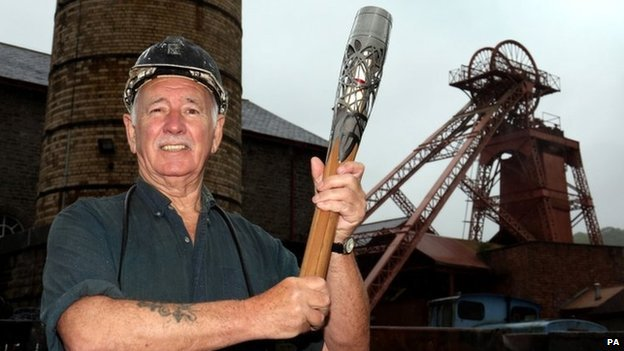 Miner and tour guide Graham Williams