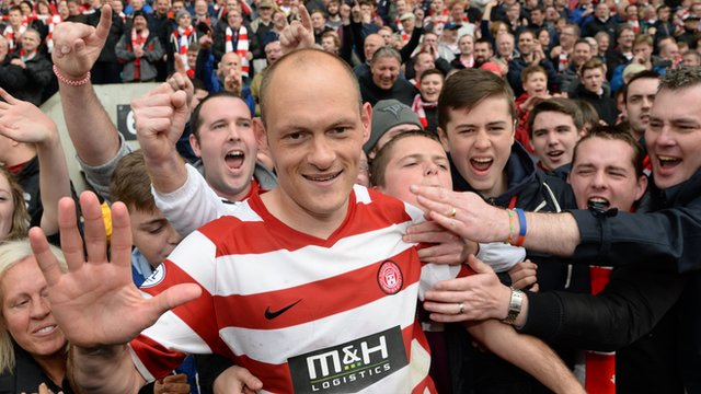Interview - Hamilton Accies player/manager Alex Neil
