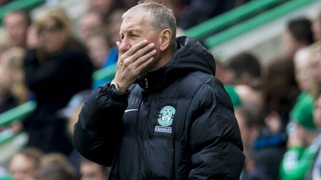 Interview - Hibernian manager Terry Butcher