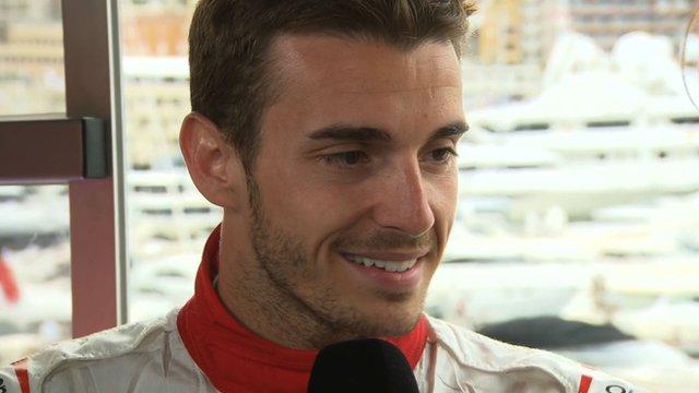 Marussia driver Jules Bianchi