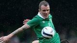 Glen Whelan and Mevlut Erdinc contend for possession