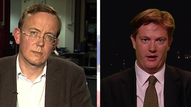 Martin Tod and Danny Alexander