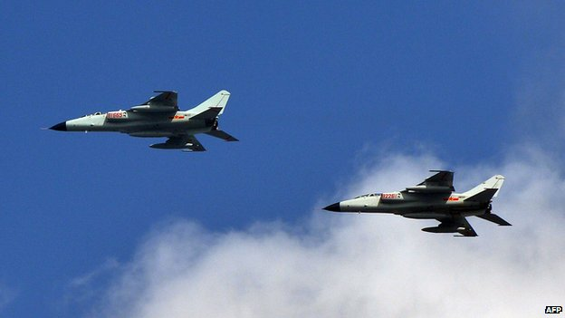Tokyo claims Chinese warplanes are flying perilously close to Japanese fighter jets