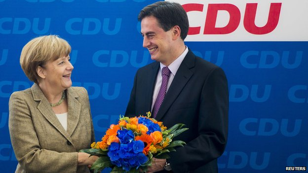 Angela Merkel, CDU celebrations