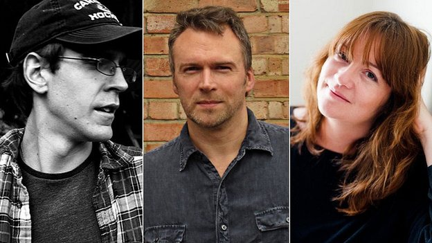 D.W. Wilson, Robert Allison and Eimear McBride