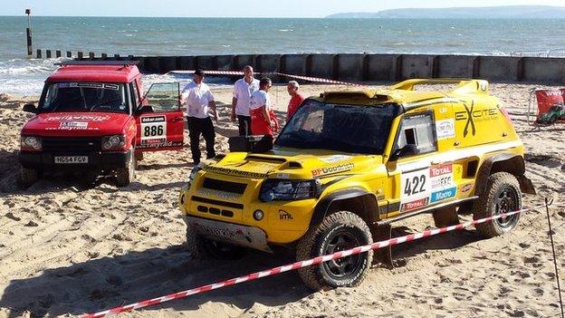 Dakar rally cars