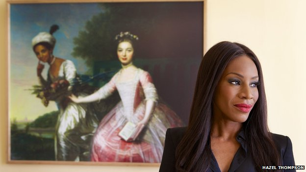 Amma Asante and Portrait of Dido Elizabeth Belle & Lady Elizabeth Murray