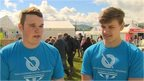 Huw Rowlands and Dafydd Rhys