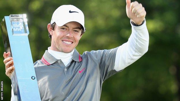 Rory McIlroy won the PGA at Wentworth