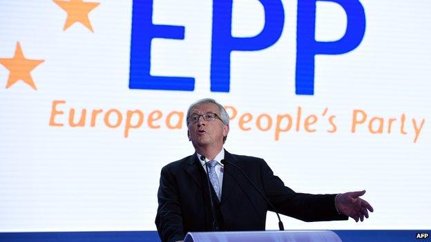 EPP leader Jean-Claude Juncker