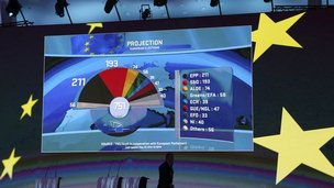 Election results in European Parliament, 25 May 14