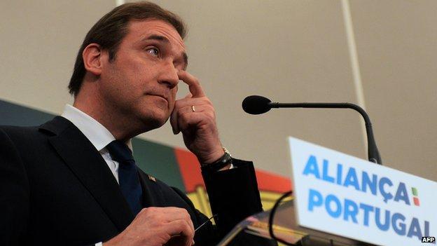 Prime Minister Pedro Passos Coelho